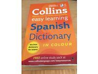 GCSE Spanish dictionary