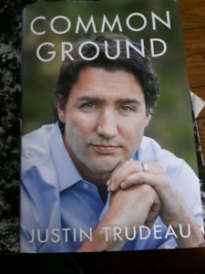 Common Ground Justin Trudeau 1st Edition Hardcover Book