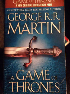 A Song of Ice and Fire (First four books, soft cv.) - 5-10$ each