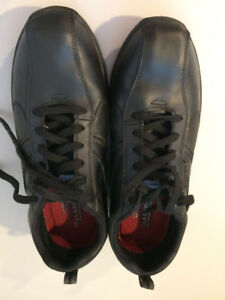 Mens Skechers for Work Hobbes Oxford Shoes Size 12 EUC
