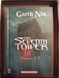 The Seventh Tower Volumes 1-3 By Garth Nix