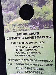 Boudreau's Cosmetic Landscaping
