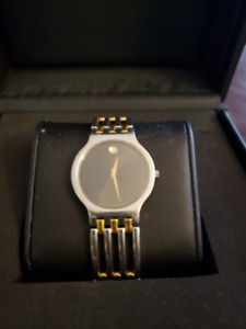 Movado Esperanza Black Dial Watch -34mm