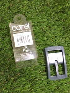 Brand new Grey removable  belt buckle Borel