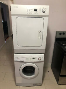 Samsung 24 inch stackable Washer dryer for sale