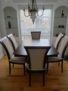 Dining Room Set (Table, Chairs, Cabinets)
