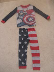 Captain America And Spiderman Pajamas