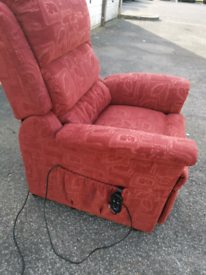 Electric rise and recline mobility armchair, local delivery possible