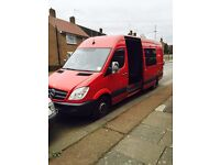 Mercedes sprinter lwb 7 seater. (No ford transit , iveco . Very good the van.