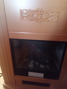 Electric fire place for sale!