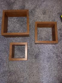 REDUCED- Set of 3 Shelving/ Display