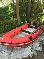 12 foot zodiac futura inflatable boat REDUCED