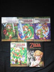5 Legend of Zelda mangas/comic books !