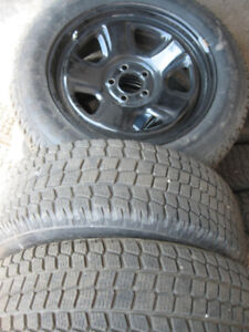 4 Winter tires Firestone 225/60R18 Dodge Charger Police back