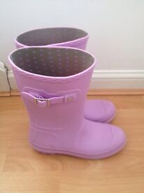 Ladies/girls lilac wellies size 3/36