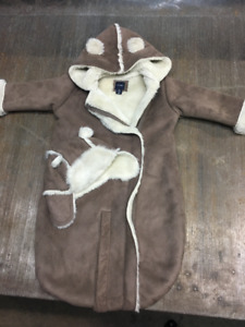Beautiful Baby GAP Suede Cold Weather Carrier