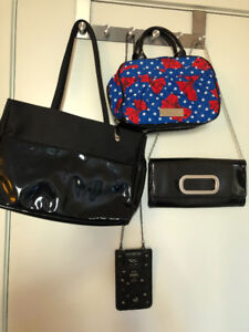ALDO purse, Betsey Johnson handbag, etc. (for $30 altogether!!!)