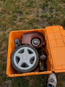 Lawnmower and snowblower parts