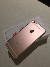 Iphone 6S 32 GB Unlocked Rose gold.