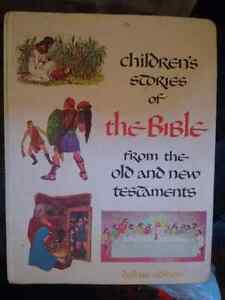 Hardcover Children's stories of the bible from 1968.   Kingston Kingston Area image 1