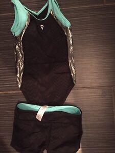Ivivia gymnastic suit and shorts