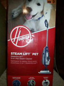 3 assorted steam cleaners