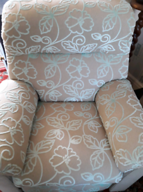Park Furnishers reclining 3 seater sofa 2 armchairs