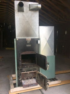 Wood furnace for sale $1000 obo