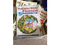 Farthing wood friends magazine collection