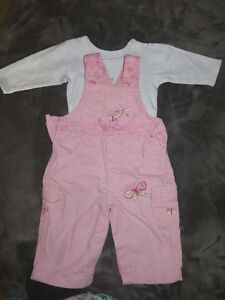 girls size 3-6 months 31 pieces of clothing page one Stratford Kitchener Area image 10