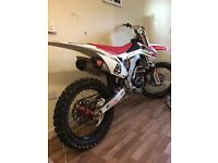 Honda crf 250 2014 muscle milk edition . Not cr yz kx rm tm