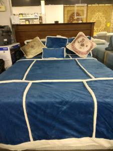 7 PC Soho Sherpa Comforters