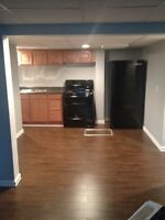 1bedroom basement apartment all included