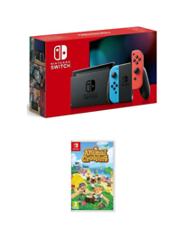 Brand new Nintendo Switch (improved battery) + Animal Crossing