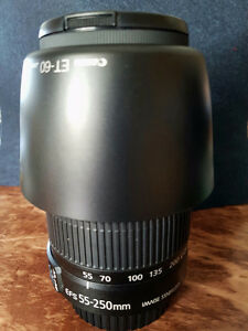 Canon 55-250mm IS II Lens