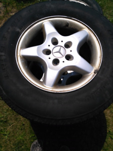 Mercedes ML 320 rims and tires