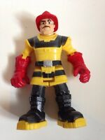 Rescue action figure fire fighter