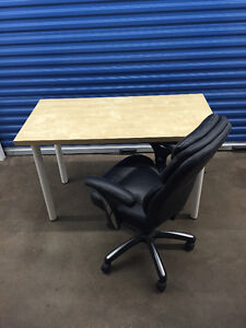Ikea Desk and Office Chair in Great Condition