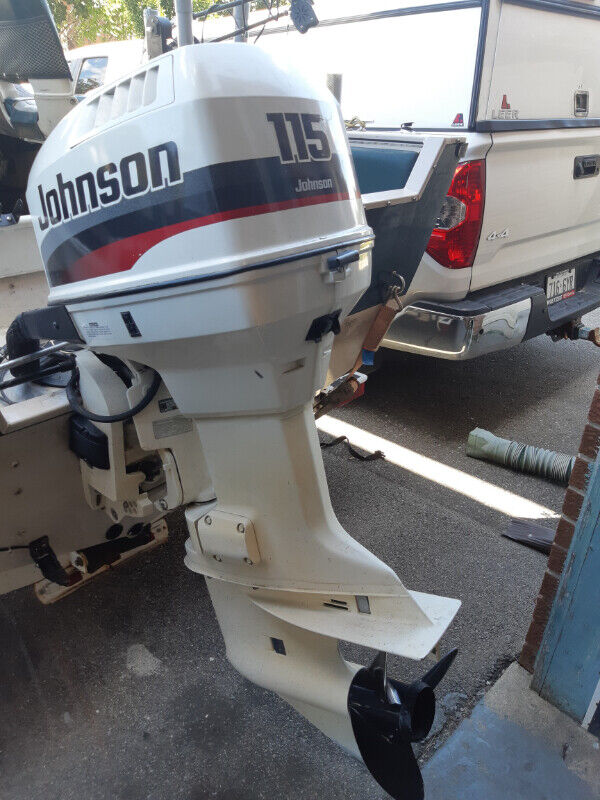 115 HP Johnson Outboard Motor with VRO2, year 1998