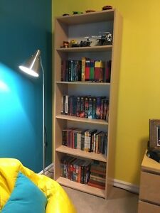 IKEA birch veneer bookcase