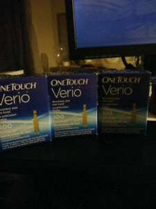 For Sale One Touch Verio Test Strips