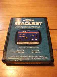 Seaquest Atari 2600 Game Cartridge by Activision AX-022