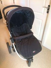 Britax Vigour 3+ Pram, Car seat (incl. Isofix) Travel System