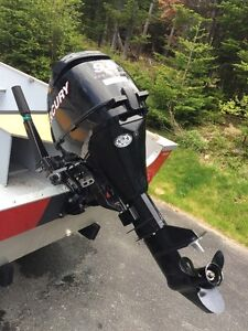 Used 2012 Mercury 9.9 HP Outboard, 4-Stroke