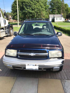 2002 Chevrolet Tracker As-Is