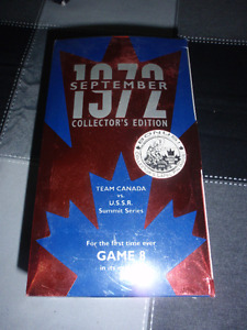 1972 COLLECTORS EDITION TEAM CANADA VS U.S.S.R. SUMMIT SERIES