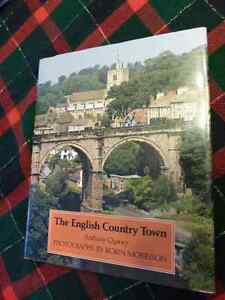 The English Country Town  - Hardcover with dust jacket