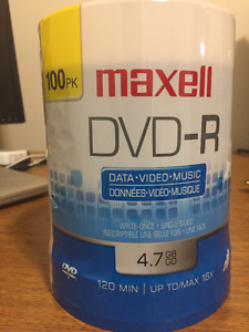 Maxell DVD-R Discs 4.7GB 100 Pack