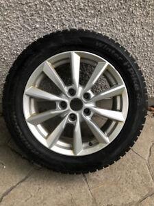 Mag Wheel + Pneu d'Hiver