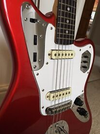 Fender Jaguar - Japanese - Candy Apple Red with matching headstock - 1999-2002 - delivery available!